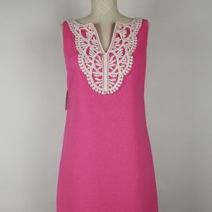Kensie Hot Pink Sleeveless Dress